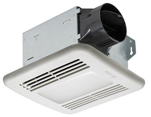 Delta Electronics (Americas) Ltd. ITG80LED Delta BreezIntegrity Series 80 CFM Fan/Dimmable LED Light, 11.3W, 1.3 Sones