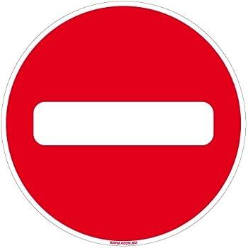 Vinmer 386003 Panneau de signalisation Entr/ée interdite 330 x 200 mm