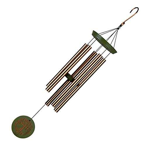 PROKTH Garden Wind Chime Unique Well-Made and Beautifully Painted Outdoor Hanging Decoration