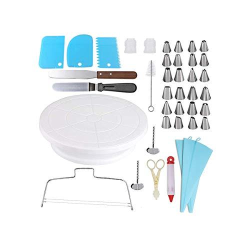 YL Kit de herramientas para hacer pasteles, kit de decoración de pasteles, combinación de herramientas para pasteles de 40 piezas, herramienta para pasteles adecuada para niños...