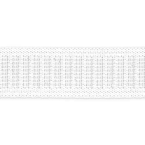 Dritz 3/4', 3-Pack Non-Roll Sewing Elastic, White 3