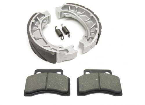 Bremsbacken Bremsbeläge Set vorne u. hinten für Keeway Pixel RX8 RY6 RY8 Swan