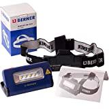 Berner Linterna frontal LED 2 en 1 para taller