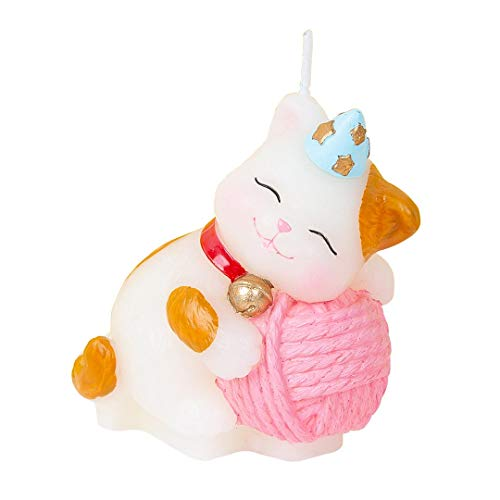 Cute Cat Birthday Candles Cake Topper Animal Candles for Birthday Festive Party Supplies and Wedding Favor … (Cat)