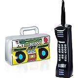 Gejoy 2 Pièces Radio Boombox Gonflable Téléphone Portable Gonflable...