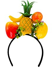 shoperama Cerchietto per capelli con frutti Brazil Frutta Esotico Samba Miranda Carnevale in Rio Accessori