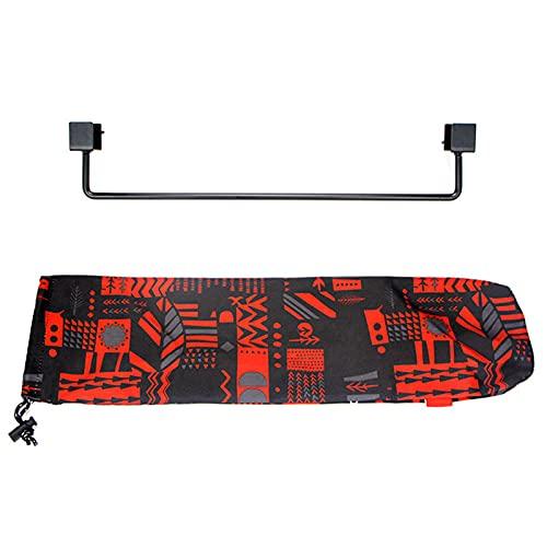 MOTINGDI - Colgador de mesa para acampar al aire libre, utensilios de cocina de vajilla, kit de accesorios para jardín, patio trasero, barbacoa