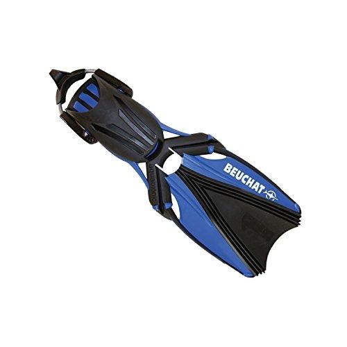 BEUCHAT Aquabionic Geräteflosse mit WARP Technologie, Farbe:blau, Größe:XL