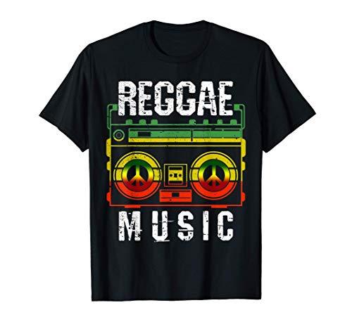 Reggae Music Shirt - Peace One Love Rastafari T-Shirt T-Shirt