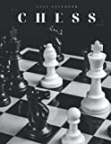 Chess 2022 Calendar: Beautiful Calendar with Large Grid for Note - To do list, Gorgeous 8.5x11   Small Calendar, Non-Glossy Paper