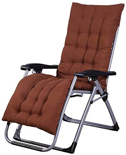 WDHWD - Silla de exterior reclinable, sillas largas plegables de exterior, silla de jardín plegable, silla de Patio, sillas largas de interior, sillas largas de interior
