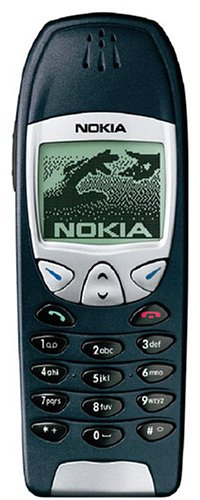 Nokia 6210 Handy Black