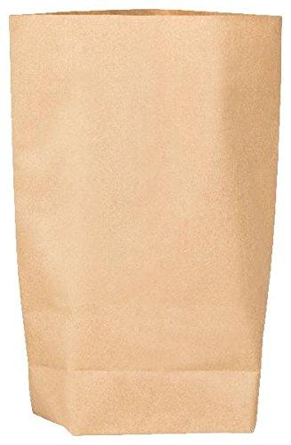 25x itenga Kraftpapiertüten GROSS Geschenktüten Bodenbeutel Kraftpapierbeutel 23x38cm z.B für Adventskalender, Ostern, Bastel Geschenke Kommunion Hochzeit
