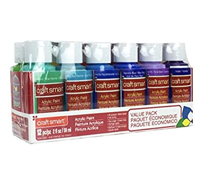 Acrylic Paint Value Set by Craft Smart Bright