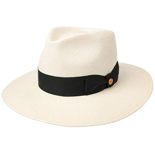 Mayser Nizza Panamahut Strohhut Panamastrohhut Sonnenhut Herrenhut (55 cm - Natur)