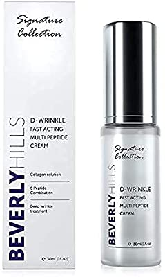 Anti Ageing D-Wrinkle Peptide Cream for Wrinkles, Skin Elasticity and Rejuvenation by Md3 Advanced Skincare