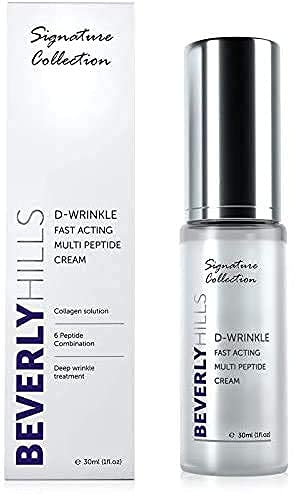 Anti Ageing D-Wrinkle Peptide Cream for Wrinkles, Skin Elasticity and Rejuvenation