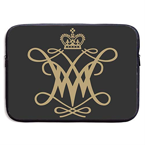 William & Mary Tribe Laptop Sleeve Bag Protective Bag Water-Resistant Neoprene Notebook Computer Pocket Tablet Briefcase Carrying Bag/Pouch Skin Cover for Laptops 13 inch