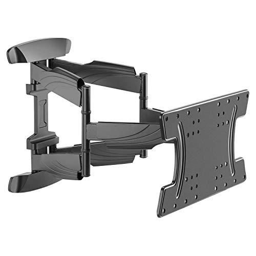 RICOO Fernseher TV Wand-Halterung Schwenkbar Neigbar (S3042) Universal Fernsehhalterung für 32-65 Zoll (bis 30-Kg, Max-VESA 400x200) - LCD OLED Flach Curved Bidschirm