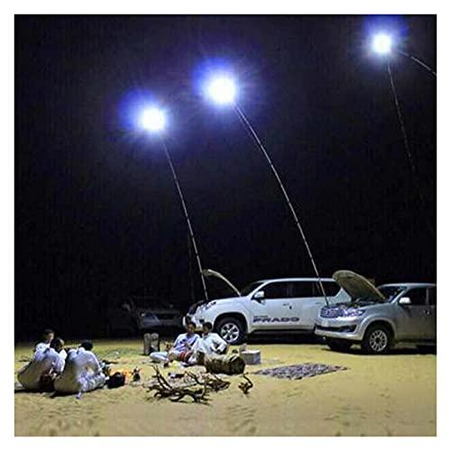 KOLOSM Linterna Camping Barra telescópica Pesca Al Aire Libre Camping Linterna Luz con Control Remoto Varilla de Pesca Luz Exterior