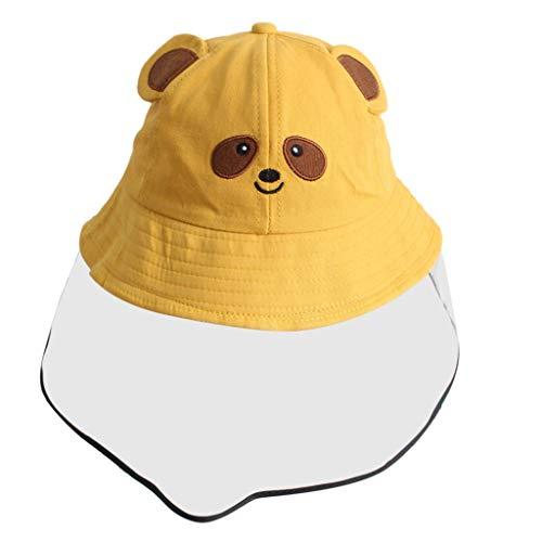 sunnymi Baby Jungen und Mädchen Hutmützen,Anti-Spuck-Schutzhut Staubdichte Abdeckung Kinder Jungen Mädchen Fischer Cap Cap Hut