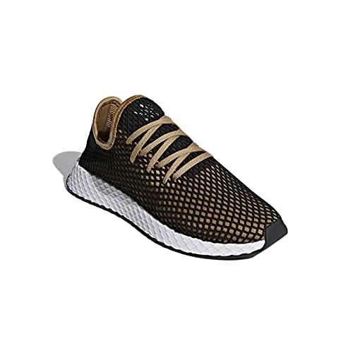 adidas Hombre Deerupt Runner Zapatillas Negro, 39 1/3