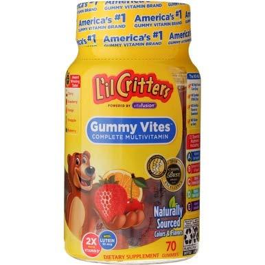 L'il Critters Gummy Vites Kids Multivitamin - 70 ct, Pack of 5