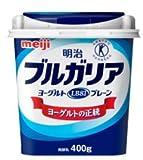 明治 ブルガリアヨーグルトLB81 プレーン【クール便】(400g×6コ) 特定保健用食品