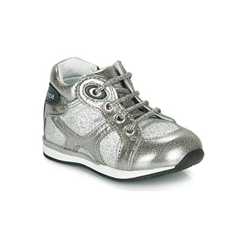 GBB NANCY Sneakers jongens Zilver Hoge sneakers