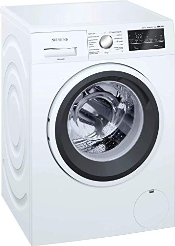 Siemens iQ500 WM14T491ES Lavadora, Independiente, Carga frontal, 9kg, 1.400rpm, A+++, Blanco