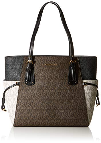 MICHAEL Michael Kors Voyager East/West Tote Brown Multi One Size