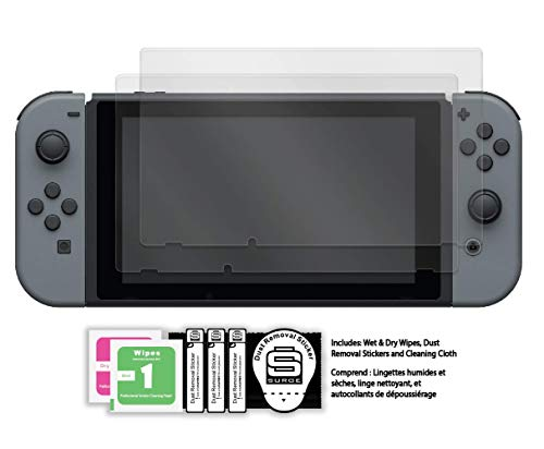 Surge Nintendo Switch Temperedshield Screen Protectors 2-Pack - Nintendo Switch