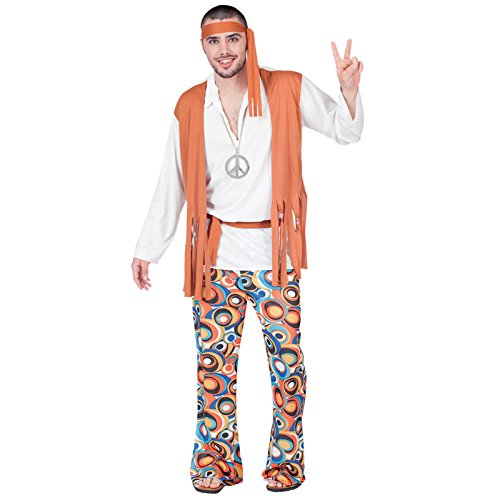 Aptafêtes - CS929841/M - Costume Hippie Homme - Taille M