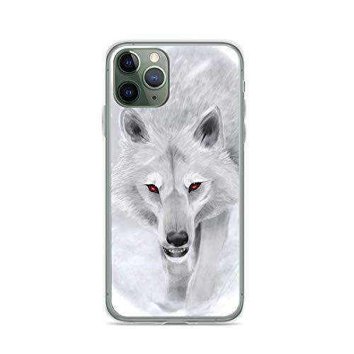 Phone Case Game of Thrones - Ghost Compatible with iPhone 6 6s 7 8 X XS XR 11 Pro Max SE 2020 Samsung Galaxy Scratch Shock Bumper
