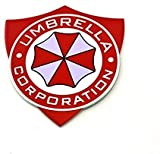 ASWJD Store Paraguas Corporation Shield Resident Evil Metal Pegatina de Coche Pegatina Insignia Calcomanía (1 : 1)