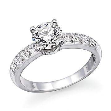 1 ctw. Round Diamond Solitaire Engagement Ring