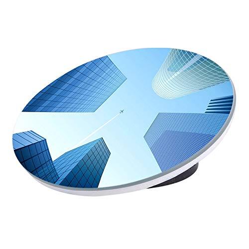 OurLeeme Blind Spot Mirror, 360 ° drehbarer Weitwinkel Auto-Außenspiegel Rückspiegel Blind Spot Parkspiegel für Cars Stick On