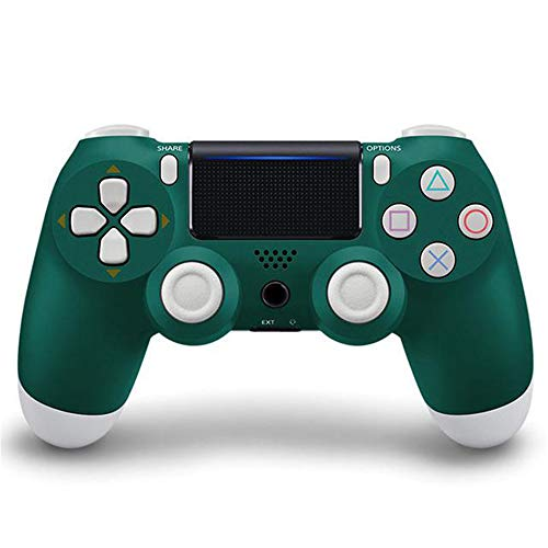 Controlador inalámbrico Bluetooth 4.0 Dual Shock, Vibration Joystick Gamepads para PlayStation 4 PS4 Console Game PadCon toque + función de audio + función de altavoz + doble vibración