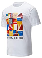 New Balance Camiseta Manga Corta Hombre Kenji Blanca MT01523