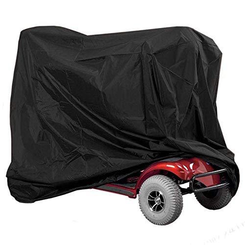 m zimoon Mobility Scooter-Abdeckung, Rollstuhl- und Scooter-Aufbewahrungsschutzabdeckung Hochleistungs-wasserdichter Schutz für Behinderten-Scooter zur Verhinderung von Regen Wind Staub Sonne UV,
