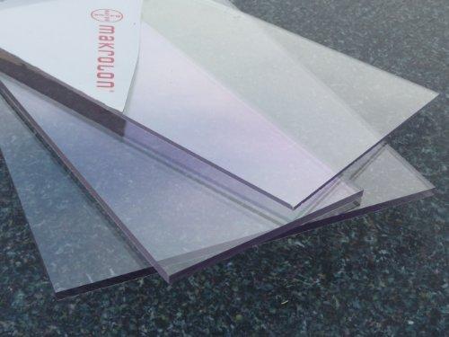 Plaque Polycarbonate UV différentes Tailles, épaisseurs, transparente (2-20 mm) PC incolore large sélection … (700 x 500, incolor 3 mm)