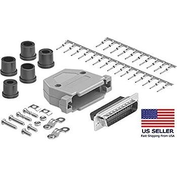 D Sub Contact ITT Cannon Combo D Series D Sub Connectors Pack of 5 Socket Copper Alloy, DM51155-7