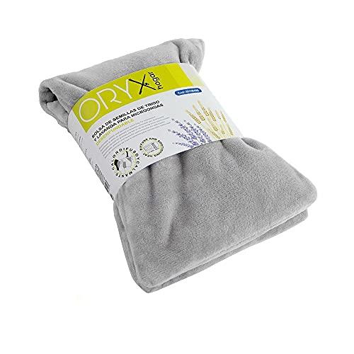 ORYX 5150490 Bolsa Semillas Calor Microondas Desenfundable 45 x 15 cm, Claro