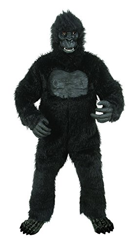 Seasons Deluxe Gorilla Costume with Feet