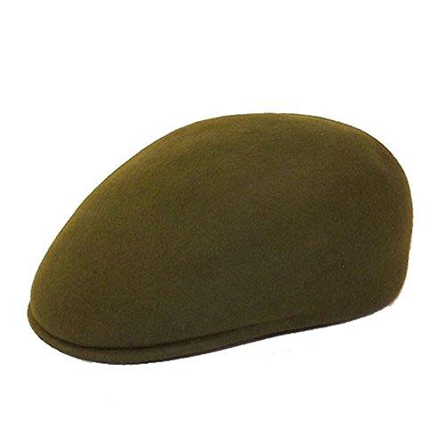 Chapeau-tendance - Casquette 100% Laine Homme Vert - 55 - Homme