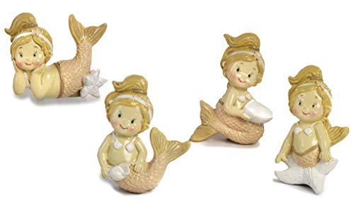 Mandorle by Paben 24 stuks snoepjes communie vormsel doop Calamita sirenetta van kunsthars
