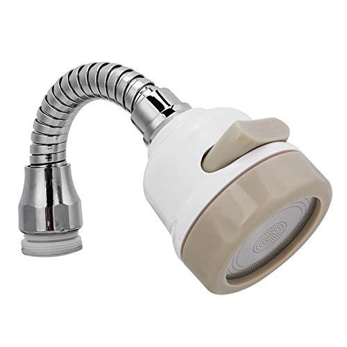 Waterbesparende kraan voor de mobiele keuken, draaibare waterfilter voor de douche, draaibare kraan voor huis, restaurant & hotel, 3 soorten
