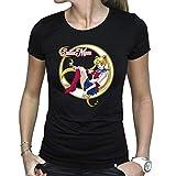 ABYstyle - Sailor Moon - Tshirt - Sailor Moon - Femme - Noir (S)