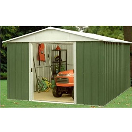 Yardmaster 8x9 ft Metal Garden Shed 10 Year Guarantee - Assembly Service Availab