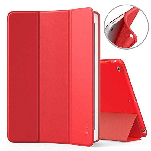 TiMOVO Hülle für iPad Mini 1/2/3, Smart Case Leicht Slim Soft TPU Schutzhülle, mit Auto Wake/Sleep Funktion, Magnetabdeckung für Apple iPad Mini 3/2/1 7,9 Zoll Tablet, Rot
